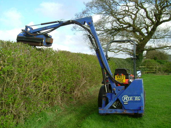 Ryetec SL420 Compact Tractor Hedgecutter  For Sale,Flail  Hedgecutter to fit Compact Tractor