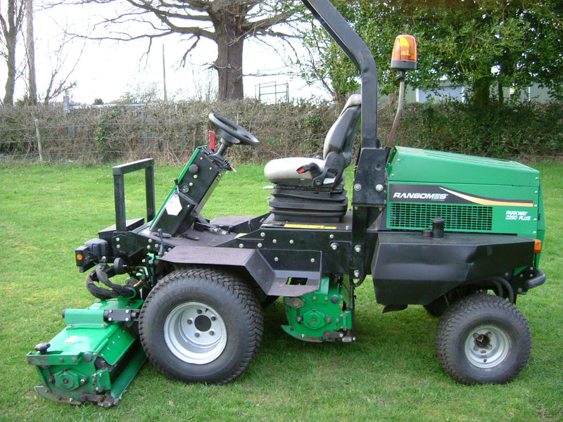 Used Ransomes Parkway 2250 Triple mower  For Sale  hours, Ransomes Triple for sale,