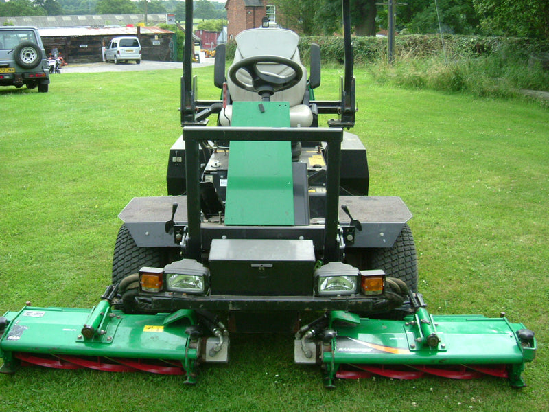 Ransomes 2130 and Ransomes 2250 Triple Cylinder Ride on Mowers