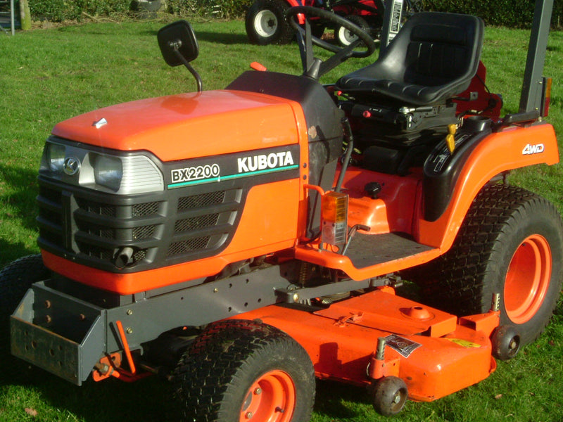 Kubota BX2200 4wd Complete with 54