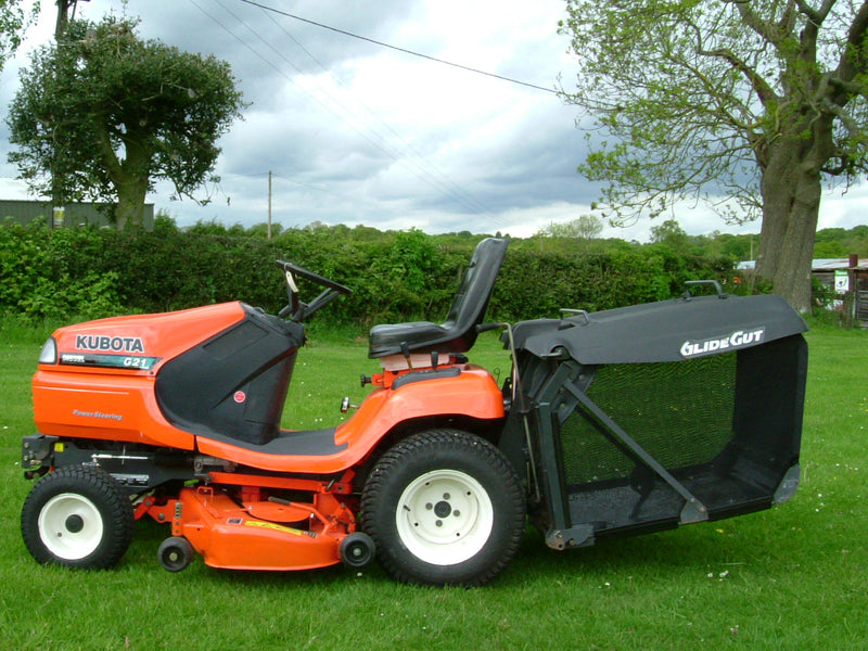 Kubota G21 Low Dump Mower, Used Kubota G21 LD Diesel Ride on