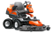 Husqvarna P520D Commercial Front Mower - Diesel, 132cm Outfront Ride on Mower