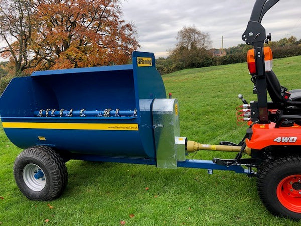 Fleming Compact Tractor Muck Spreader