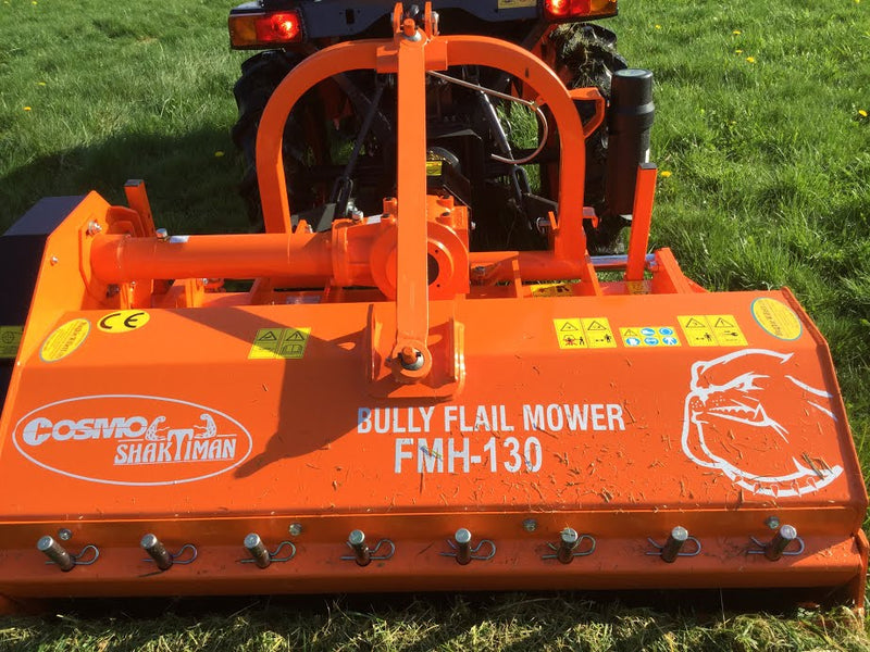 Fleming Flail Mower, Heavy Duty Compact Tractor Flail mowers