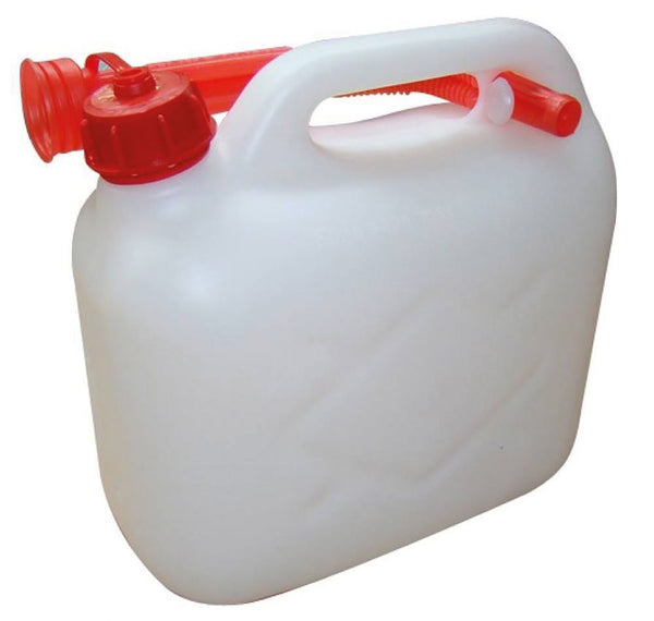 Clear Plastic Fuel Can ( 5L )