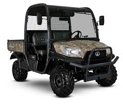 New Kubota RTVX1110 Rough Terrain Vehicle ( Camo ATV, ROPS )