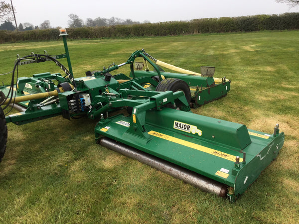 Used Major TDR20000 Roller Mower, Year 2010,Good Working Condition