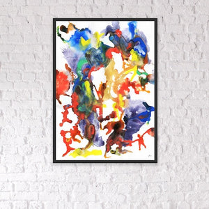 Delta 8 Abstract - Framed Print