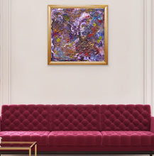 Load image into Gallery viewer, purple-abstract-Epsilon 52 Abstract - Framed Print