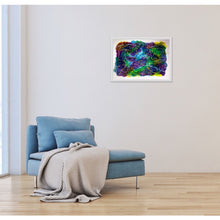 Load image into Gallery viewer, purple-abstract-Epsilon 9 - Abstract Wall Art Print