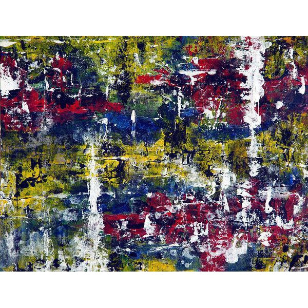Art Print, Gamma(γ) #19 Abstract Wall Art Print,Sensory Art House