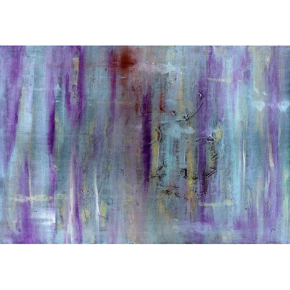 purple-abstract-Gamma 75 Abstract Wall Art Print