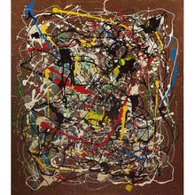 Load image into Gallery viewer, drip-abstract-Iota 16 - Abstract Wall Art Print-style-of-Jackson-Pollock