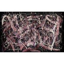 Load image into Gallery viewer, drip-abstract-Iota 4 - Abstract Wall Art Print-style-of-Jackson-Pollock