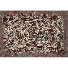 Load image into Gallery viewer, drip-abstract-Iota 8 - Abstract Wall Art Print-style-of-Jackson-Pollock