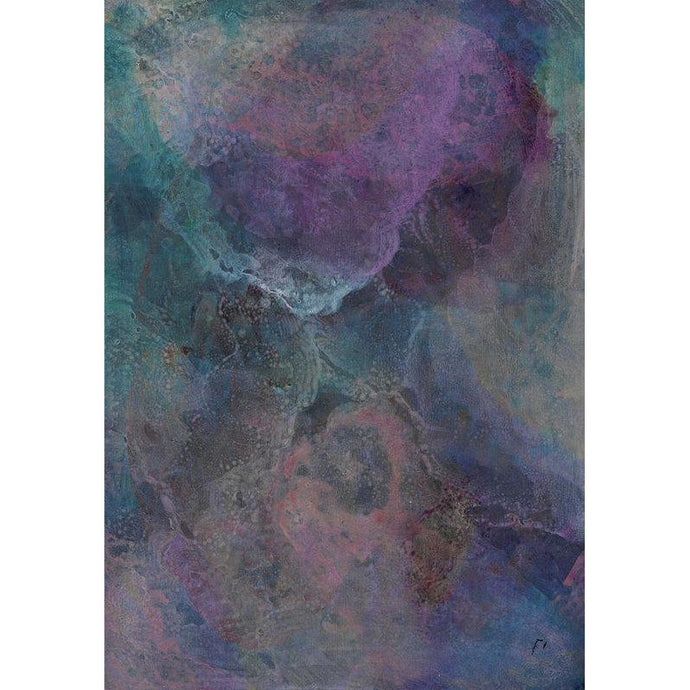 purple-abstract-Kappa 8 - Abstract Wall Art Print