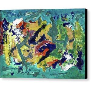 Canvas Print, Epsilon #37 Abstract Wall Art - Canvas Print,Sensory Art House