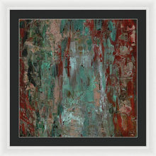 Load image into Gallery viewer, red-abstract-art-Gamma #120 Abstract Wall Art - Framed Print-Sensory Art House