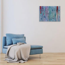 Load image into Gallery viewer, blue abstract art-Gamma 49 Abstract Wall Art Print-Paul Blenkhorn-Sensory Art House