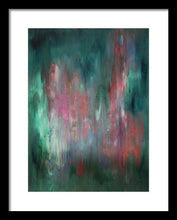 Load image into Gallery viewer, blue-abstract-art-Gamma(γ) 114 Abstract Wall Art - Framed Print-Sensory Art House