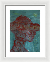 Load image into Gallery viewer, Framed Print, Kappa #14 Abstract Wall Art - Framed Print,Sensory Art House