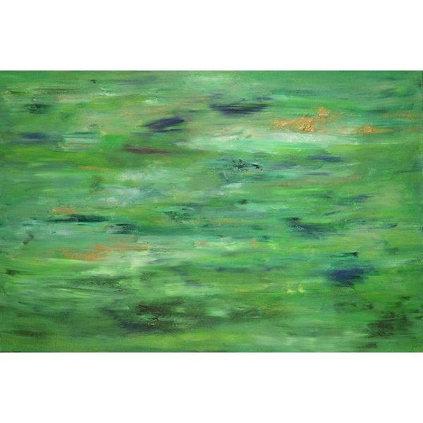 green-abstract-art-Lamda 5 Abstract - Art Print-Sensory Art