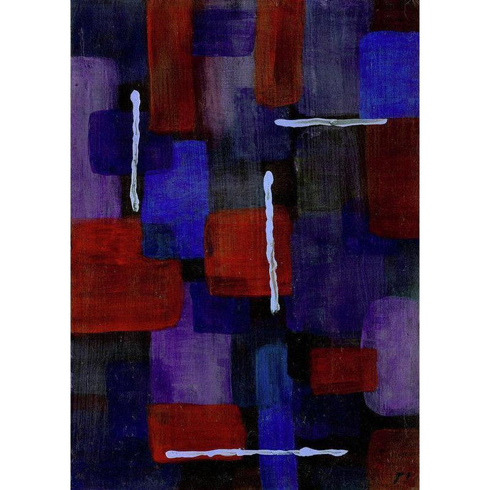 Mu 18 Abstract Wall Art Print-in-style-of-mark-rothko