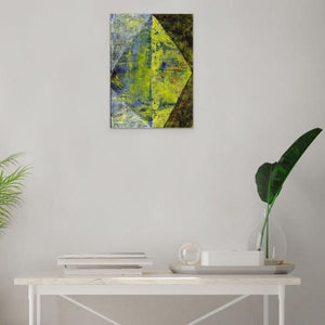 Art Print, Xi(ξ) #1 Abstract Wall Art Print,Sensory Art House