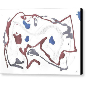Canvas Print, Delta #3 Abstract Wall Art - Canvas Print,Sensory Art House
