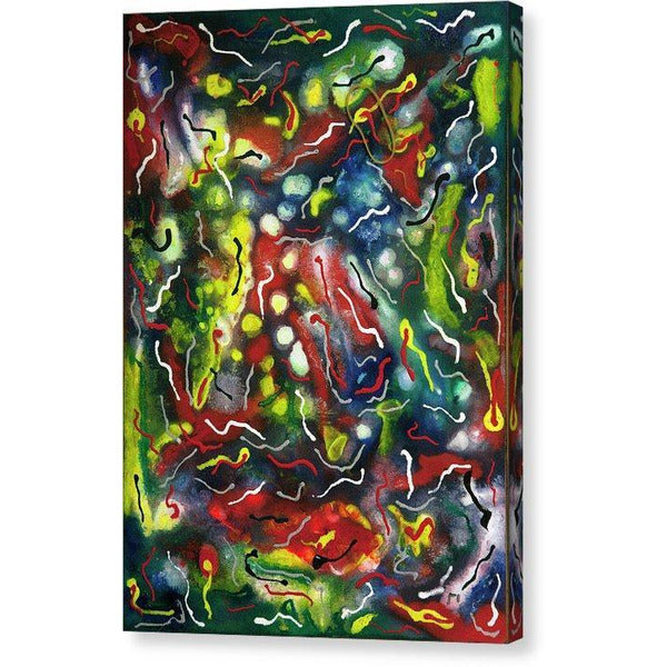 Canvas Print, Epsilon #13 Abstract Wall Art - Canvas Print,Sensory Art House