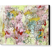 Load image into Gallery viewer, pink-abstract-Epsilon 36 Abstract Wall Art - Canvas Print