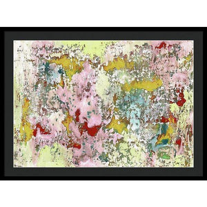 Framed Print, Epsilon #36 Abstract Wall Art - Framed Print,Sensory Art House
