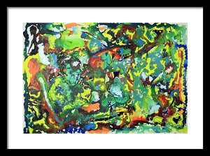 Epsilon 45 Abstract - Framed Print
