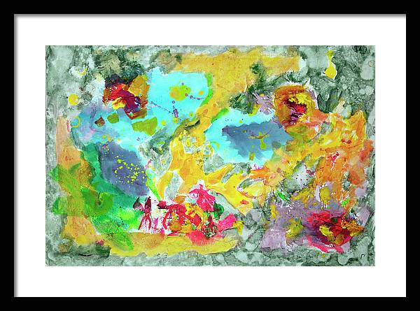 Epsilon 46 Abstract - Framed Print