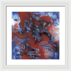 Epsilon 50 Abstract - Framed Print