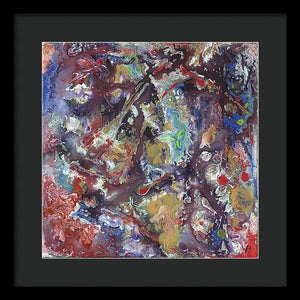 Epsilon 51 Abstract - Framed Print