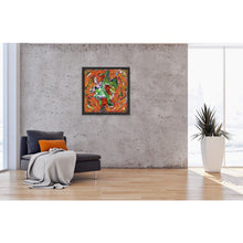 Load image into Gallery viewer, orange-abstract-Epsilon 54 Abstract - Art Print