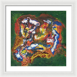 Epsilon 56 Abstract - Framed Print