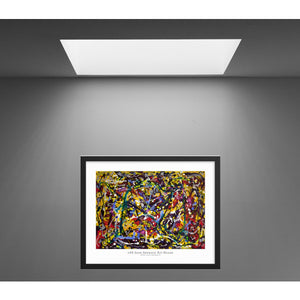 Canvas Print, Epsilon(ε) #8  - Abstract Wall Art - Canvas Print,Sensory Art House
