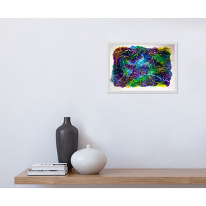 Canvas Print, Epsilon(ε) #9  - Abstract Wall Art - Canvas Print,Sensory Art House