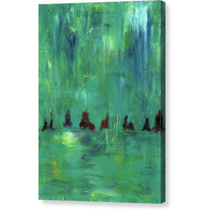 Canvas Print, Gamma #101 Abstract Wall Art - Canvas Print,Sensory Art House