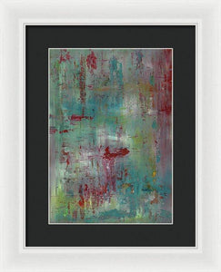Framed Print, Gamma #102 Abstract Wall Art - Framed Print,Sensory Art House