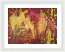 Load image into Gallery viewer, Framed Print, Gamma #109 Abstract Wall Art - Framed Print,Sensory Art House