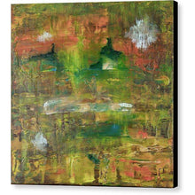 Load image into Gallery viewer, orange-abstract-Gamma 115 Abstract Wall Art - Canvas Print