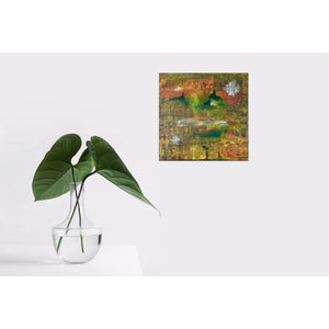 orange-abstract-Gamma 115 Abstract Wall Art - Canvas Print