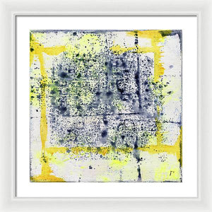 Gamma 127 Abstract - Framed Print