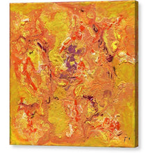 Load image into Gallery viewer, orange-abstract-Gamma 129 Abstract - Canvas Print