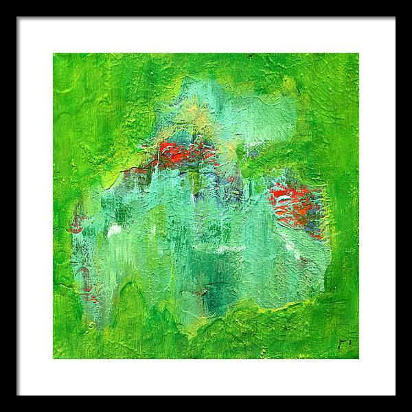 Gamma 138 Abstract - Framed Print
