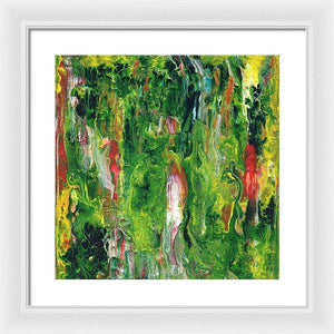 Gamma 147 Abstract - Framed Print