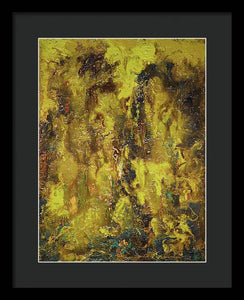 Gamma #156 Abstract - Framed Print